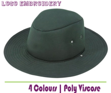 PolyViscose School Hat