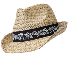 Straw Fedora Hats